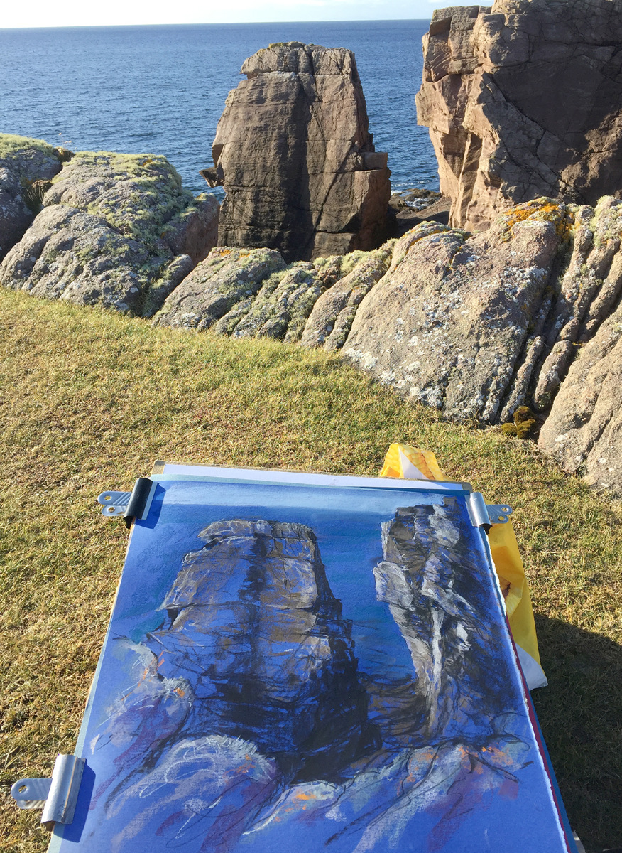Extreme 'plein air' painting tips